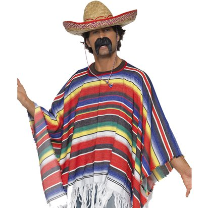 Mexican Accessory Kit - Mexican Fancy Dress Costume Accessories front