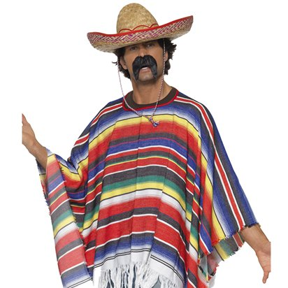Mexican Accessory Kit - Mexican Fancy Dress Costume Accessories pla