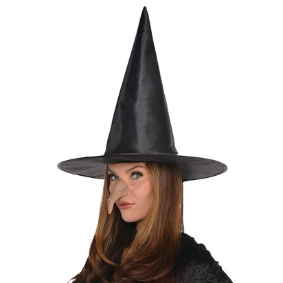 Wicked Witch Accessory Kit - Witch Fancy Dress Costume Accessories left