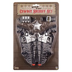Fancy Dress Accessories Cowboy Gun & Holster Set
