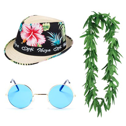 Summer Festival Ibiza Kit - Mens Fancy Dress Accessories front