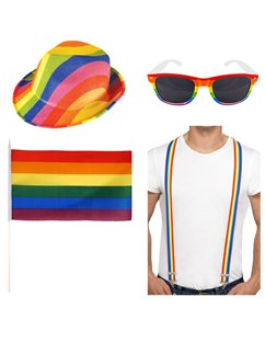 Pride Hat and Glasses Accessory Kit