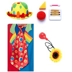 Circus Clown Accessory Kit