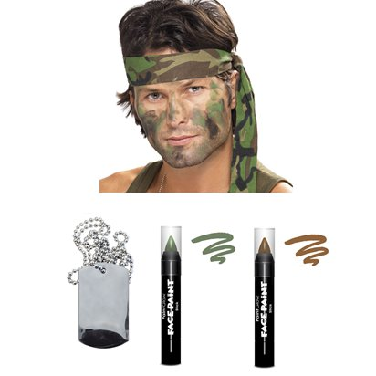 Army Camouflage Accessory Kit front