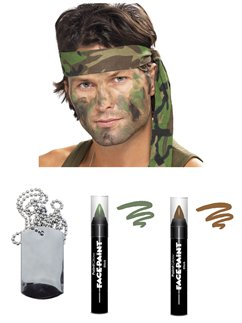 Army Camouflage Accessory Kit