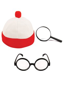 Adult Where's Wally Accessory Kit