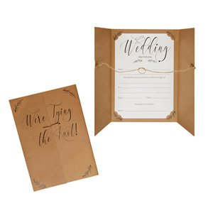 Hearts & Krafts Wedding Invitations