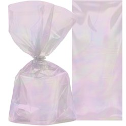 Iridescent Party Bags - Plastic Treat Bags