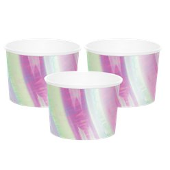 Iridescent Treat Cups