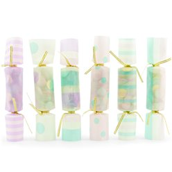 Iridescent Confetti Crackers - 17cm