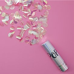 Iridescent Party Confetti Cannon - 15cm