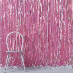 Iridescent Party Fringe Door Decoration - 1m