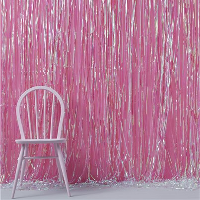 Iridescent Party Fringe Door Decoration - 2.4m