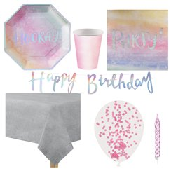 Iridescent Party Pack - Deluxe Pack for 8