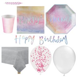 Iridescent Party Pack - Deluxe Pack for 16