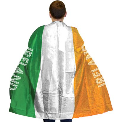 Irish Flag Cape - St Patrick's Day Fancy Dress Accessories front