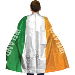 Irish Flag Body Cape - One Size