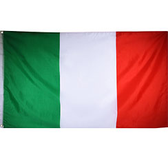 International Flag Italian Cloth Flag - 1.5m