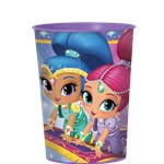 Shimmer & Shine Plastic Favour Cup - 455ml