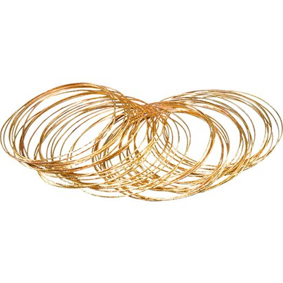 Gold Bangles - Fancy Dress Accessories front