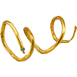 Gold Snake Armband  Fancy Dress