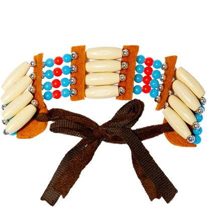 Native American Beaded Choker - Fancy Dress Accessories front