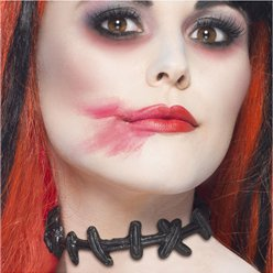 Stitched Up Choker