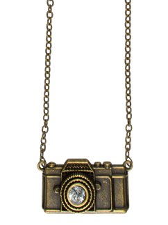 Steampunk Camera Necklace