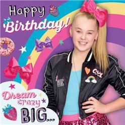 JoJo Siwa Birthday Card