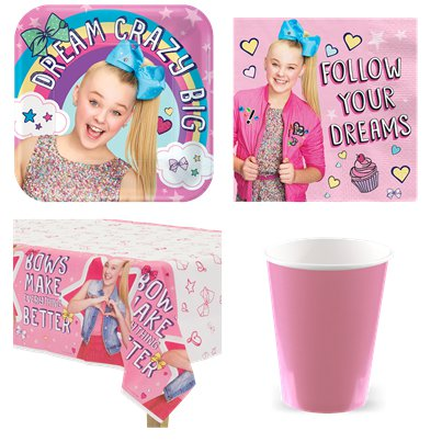 JoJo Siwa Party Pack - Value Pack for 8