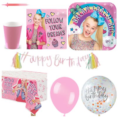 JoJo Siwa Party Pack - Deluxe Pack for 16
