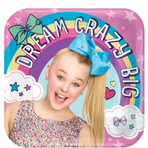 JoJo Siwa Paper Party Plates - 23cm
