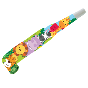 Animal Friends Party Blowers