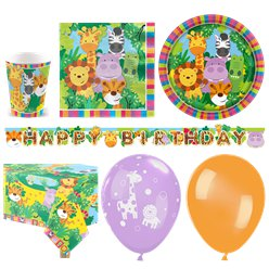 Animal Friends Party Pack - Deluxe Pack for 16