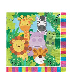 Animal Friends 2ply Napkins - 33cm
