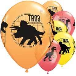 "Jurassic World Balloons - 11"" Latex"