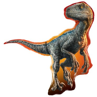 "Jurassic World Raptor Supersize Balloon - 38"" Foil"
