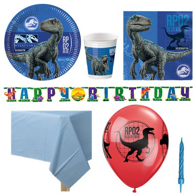 Jurassic World Party Pack - Deluxe Pack For 8