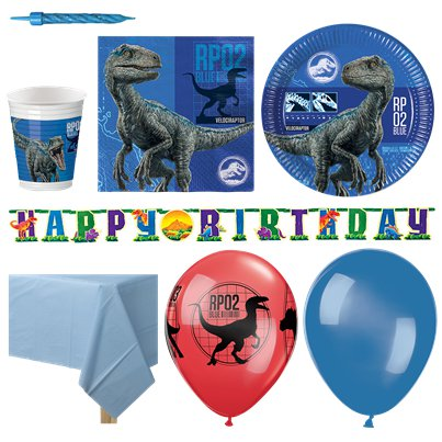 Jurassic World Party Pack - Deluxe Pack For 16