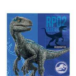 Jurassic World Lunch Napkins - 2-Ply Paper