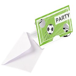 Kicker Party Invitations