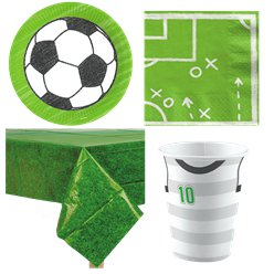 Kicker Football Party Pack - Value Pack For 8