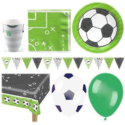 Kicker Football Party Pack - Deluxe Pack for 16