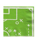 Kicker Party Paper Lunch Napkins - 33cm