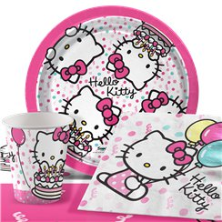 Hello Kitty Party Pack - Value Pack for 8