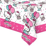 Hello Kitty Plastic Tablecover - 1.4m x 1.8m