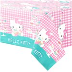 Hello Kitty Plastic Tablecover - 1.2m x 1.8m