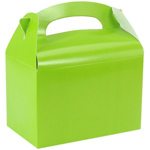 Lime Green Party Boxes