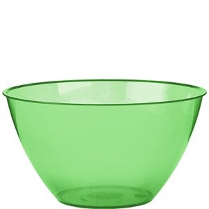 Lime Green Plastic Serving Bowl - 680ml