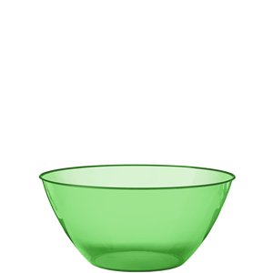 Lime Green Plastic Serving Bowl - 1.8L